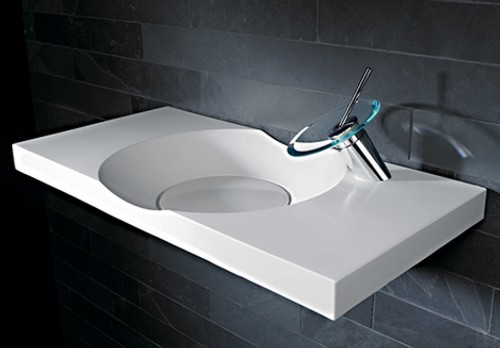 Lavabos modernos hansa washbasin hansamurano ideas de hogar for Ideas para lavabos pequenos
